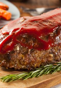 Italian Meatloaf Recipe with Bison Meat