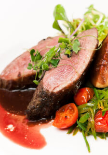 Duck Breast with Orange Juice and Port