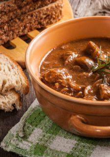 Bison London Broil Stew