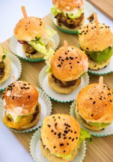 Mini Bison Burger Sliders Recipe